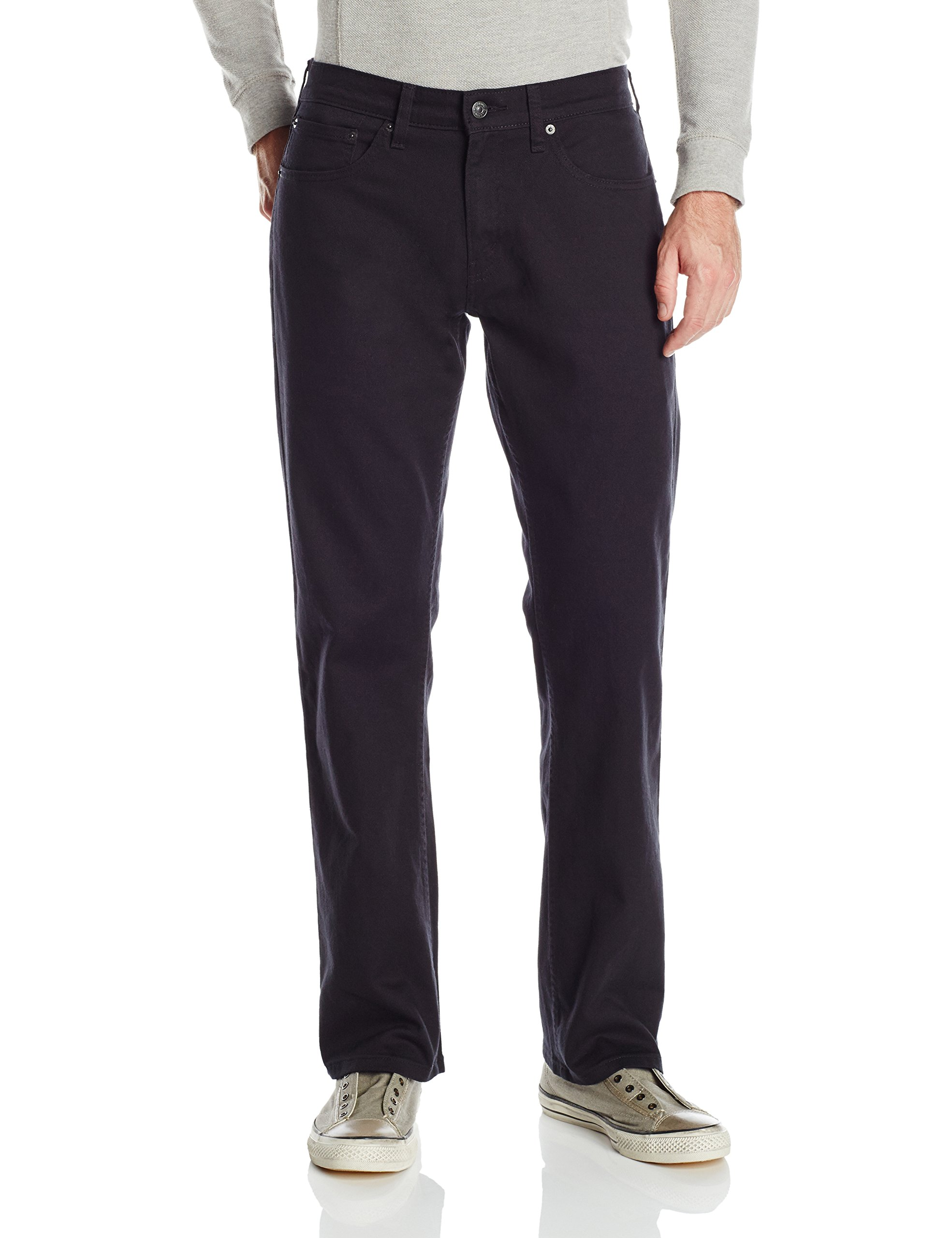 Signature by Levi Strauss & Co Men's Relaxed Jean, Gothic, 34x36 by Signature by Levi Strauss & Co. Gold Label