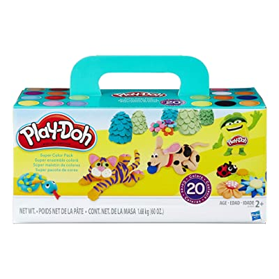 Play-Doh HG-A7924 Super Color Pack (Pack of 20): Toys & Games