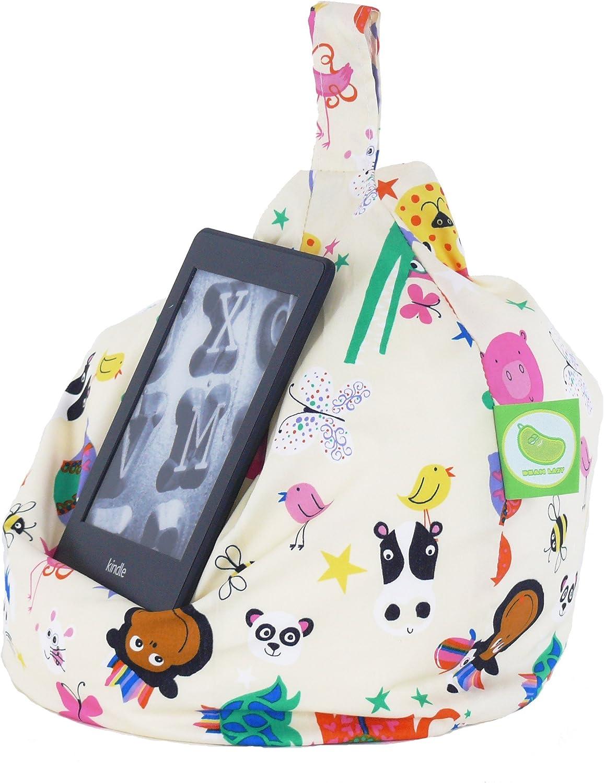 Bean Lazy iPad /Party Animals eReader /& Book Mini Bean Bag by Adatto a Tutti i Tablet e eReader/