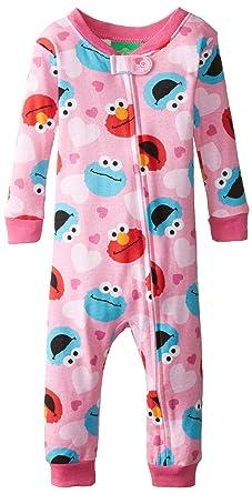 f3e54f1b07c8 Amazon.com  Sesame Street Baby Boys  Elmo and Cookie Blanket Sleeper ...