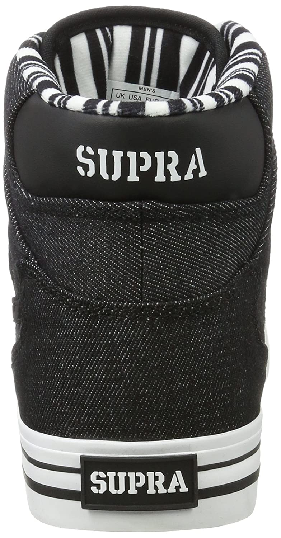Supra Vaider Skate Shoe B01MECZ92Q 9 M US|Black/White 023