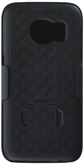 new product 86cc9 67d5e Galaxy S7 Case, Heavy Duty Samsung Galaxy S7 Belt Clip Case Super Slim Hard  Shell Holster Clip Cover with Kickstand and Swivel Belt Clip for Galaxy S  ...