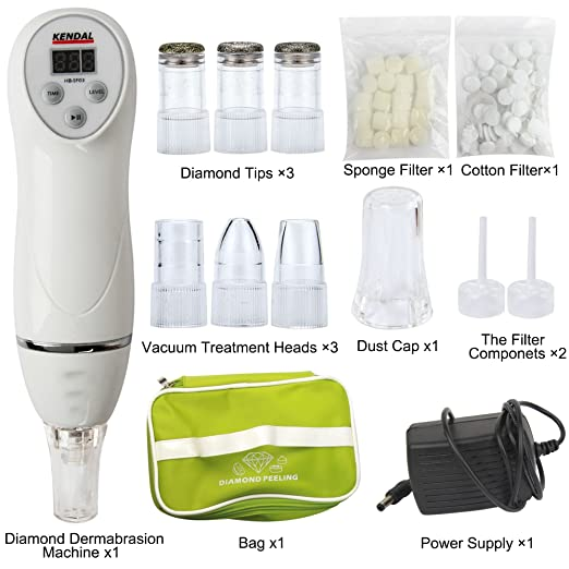 Kendal 2 in 1 portable at-home diamond microdermabrasion device SF03