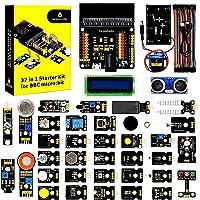 KEYESTUDIO 37 Sensors in 1 Box Starter Kit for BBC Micro bit with Tutorial (Without Microbit Board), Microbit Sensor Kit…