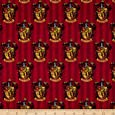 Harry Potter Digital Gryffindor Multi Fabric By The Yard