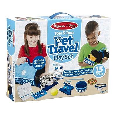 Melissa & Doug Tote & Tour Pet Travel Play Set: Toy: Toys & Games [5Bkhe0303044]