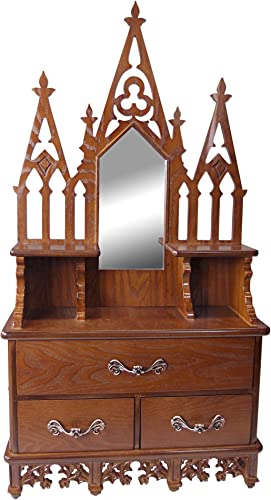 Display Cabinet – Claremont Manor – Wall Mounted Curio Cabinet