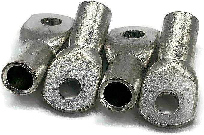 Kabelschuh 50mm2 M8 4x Ringöse Pressöse Für Batteriekabel Quetschkabelschuhe Baumarkt