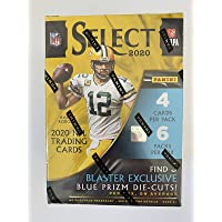 $105 » 2020 Panini Select Football 6-Pack Blaster Box (Tri-Color Prizms) NFL Trading Cards