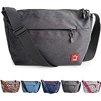 FLOCK THREE Lightweight Messenger Bag Women Fashion Waterproof Satchel Bags Men