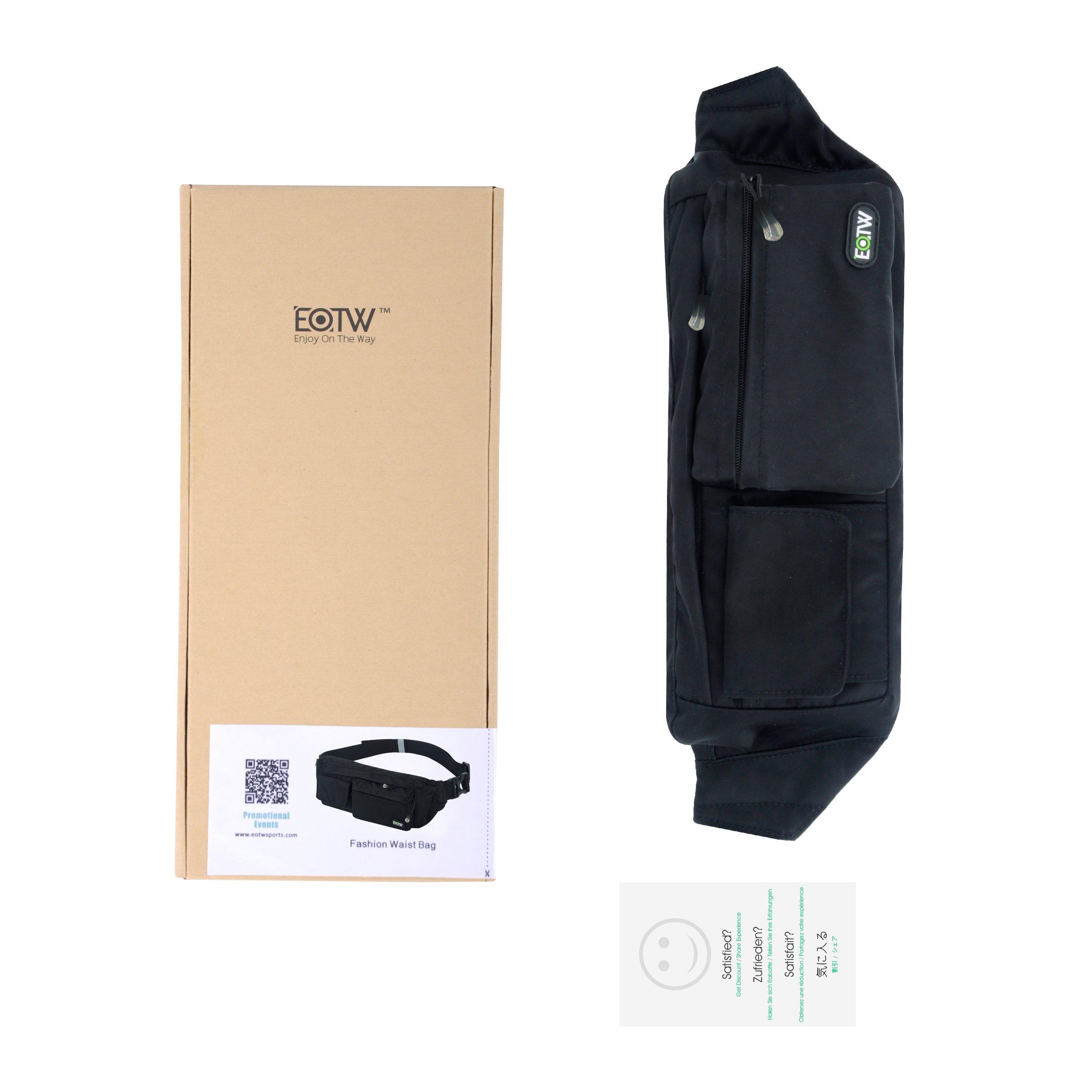 4bca091e74 EOTW Fanny Pack Waist Bag Travel Pocket Sling Chest Shoulder Bag ...