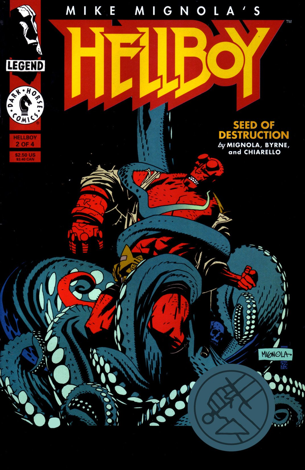 Hellboy  Seed Of Destruction  2  English Edition