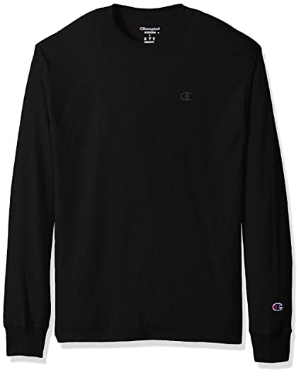 e5f8ee4d4a05 Amazon.com  Champion Men s Classic Jersey Long Sleeve T-Shirt  Clothing