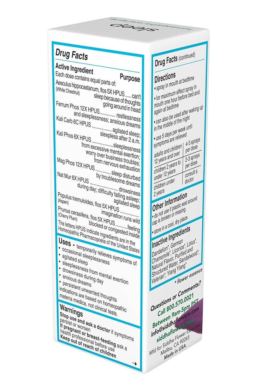 Amazon.com: Siddha Sleep Dietary Supplement 1 fl oz: Health ...