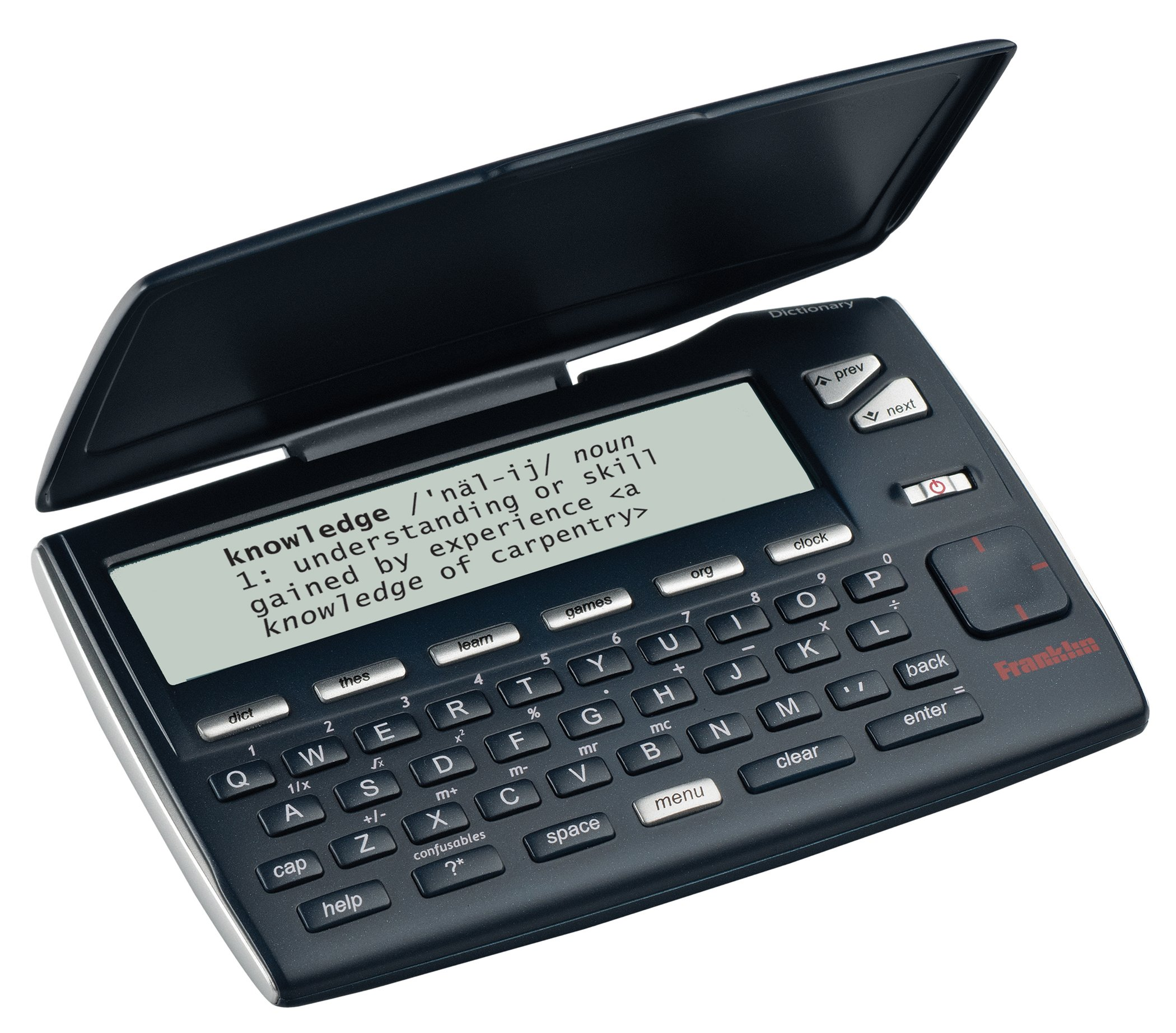 Franklin Electronics MWD-465 Merriam-Webster's Intermediate Dictionary Electronic Reference Device by Franklin Electronics