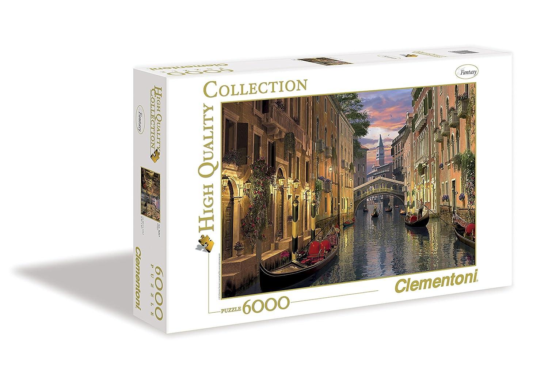 Clementoni - Puzzle 6000 piezas Venecia (36510): Amazon.es: Juguetes y juegos