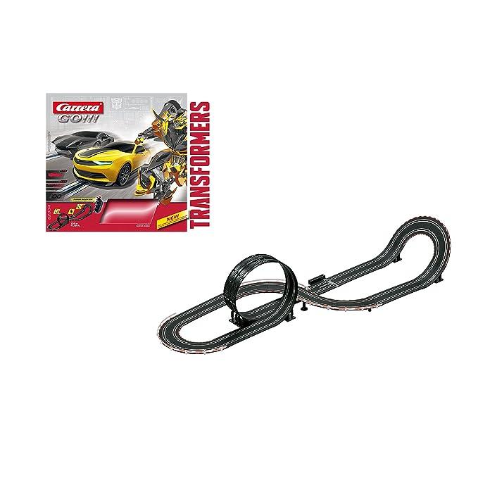 Carrera - Circuito GO!!! Lockdown Challenge, escala 1:43 (20062334): Amazon.es: Juguetes y juegos