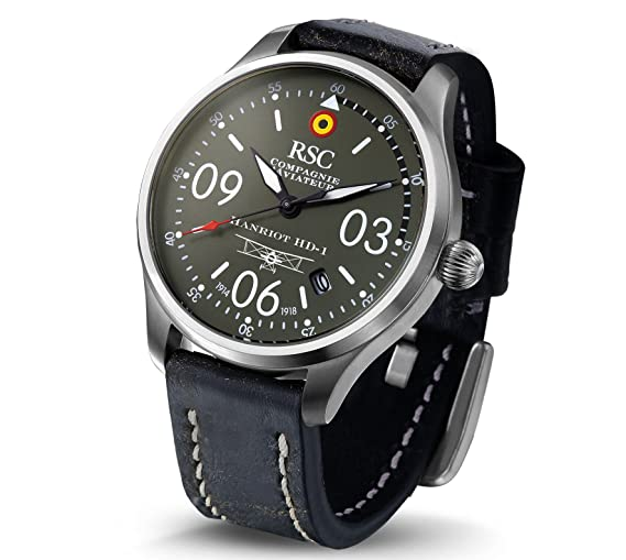 RSC702, HD1, RSC Relojes de piloto, Ediciones Históricas, Aviación: Amazon.es: Relojes