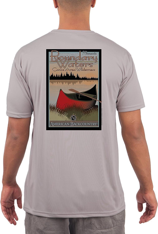 Boundary Waters Women/'s UPF 50 Long Sleeve T-shirt