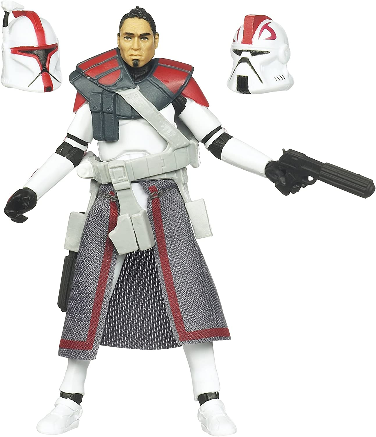 Lightsaber /& Gun Weapon for Star Wars 3.75/'/' Clone Trooper figure Accessory Toys