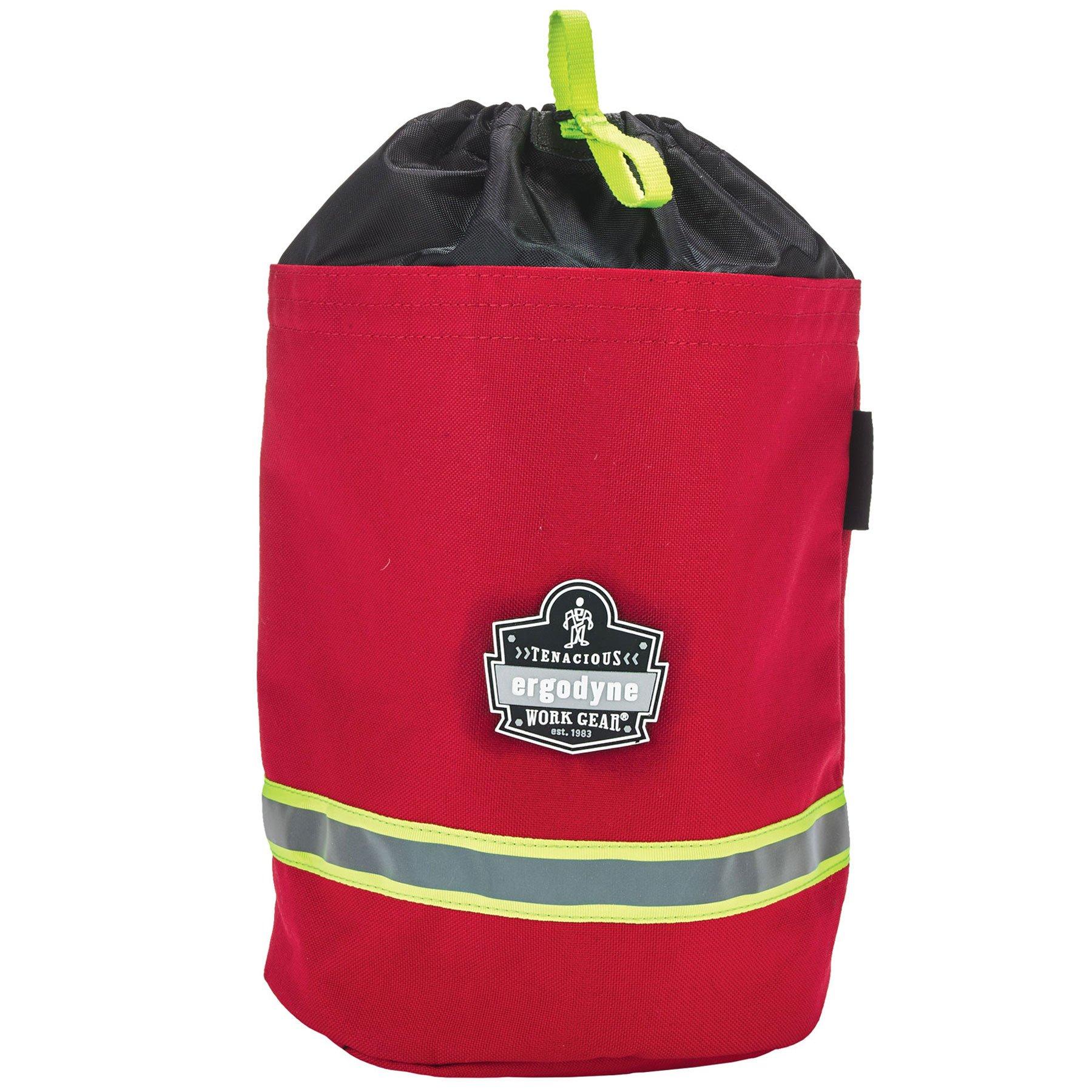 Ergodyne Arsenal 5080L Fireman's SCBA Respirator Firefighter Mask Bag for air pack with Fleece Lining by Ergodyne