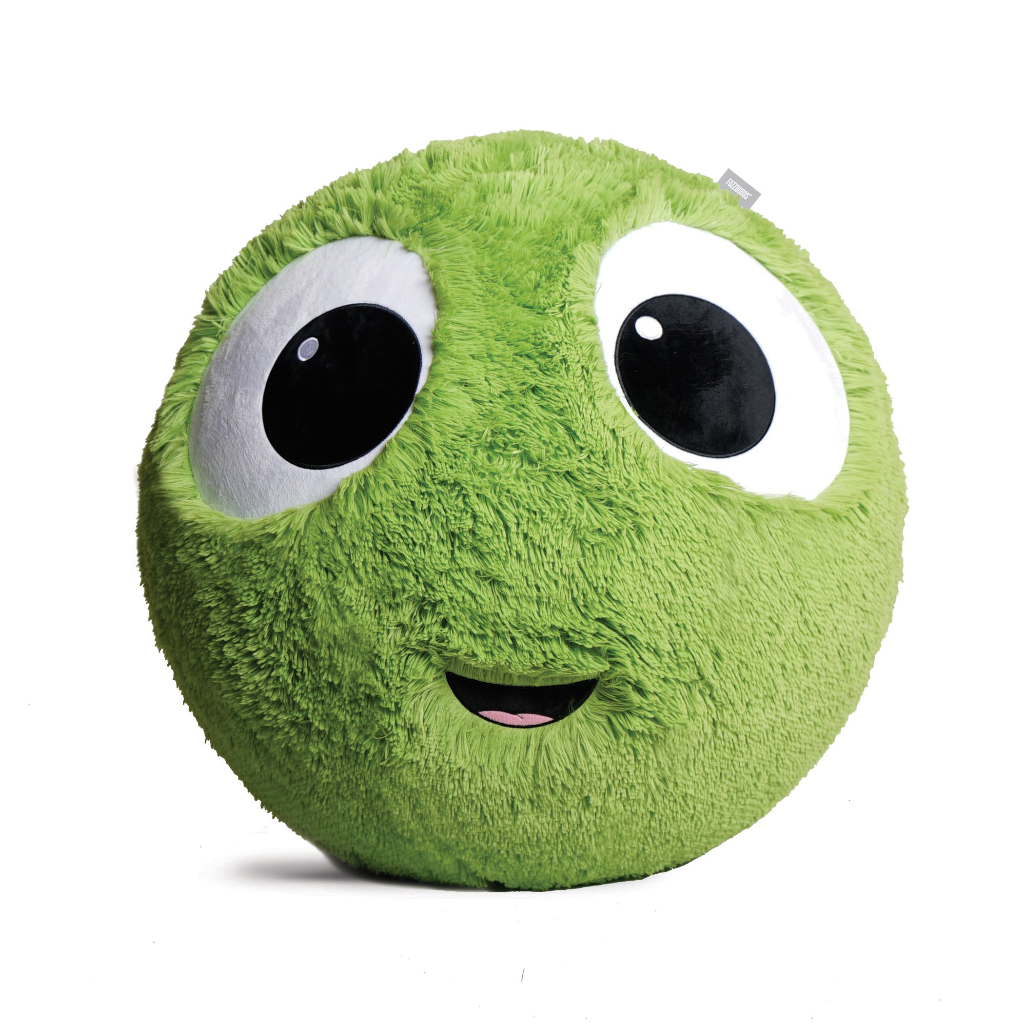 Fuzzbudds, Bouncy Balls, Ideal for Ball Pits, Balls for Toddlers, Boys, Girls, Kids Toys, Yard Games, Kids Stress Ball, Fuzzy Balls, Beach Toys, Machine Washable Fuzzy Cover and Pump Green Large 65cm