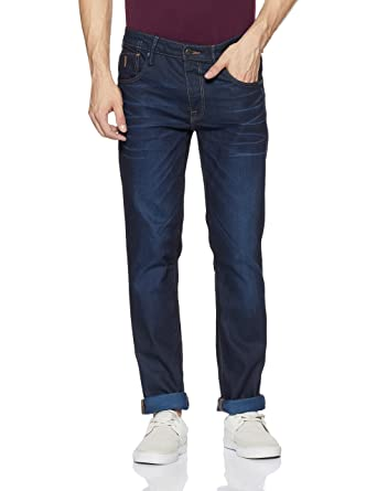 Jack & Jones Men's Tim Slim fit Jeans Men's Jeans at amazon