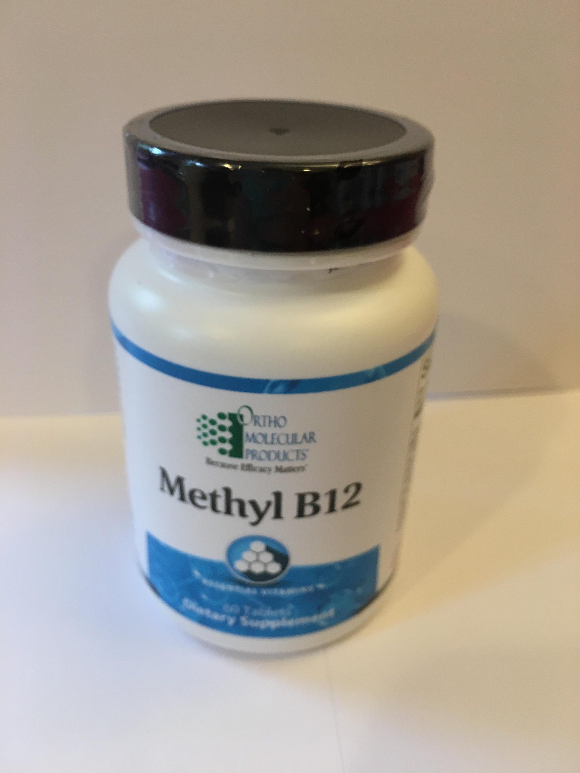 Ortho Molecular - Methyl B12 - 60 Tablets by Ortho Molecular