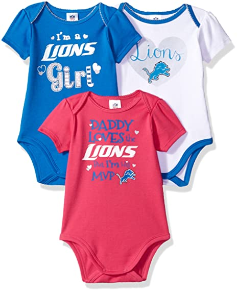 Amazon.com  NFL Daddy Loves 3 Pack Bodysuit  Sports   Outdoors 456a16837