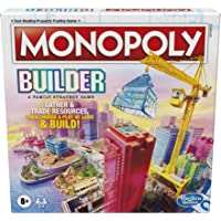 Monopoly Builder Board Game, Strategy Game, Family Game, Games for Kids, Fun Game to Play, Family Board Games, Ages 8…