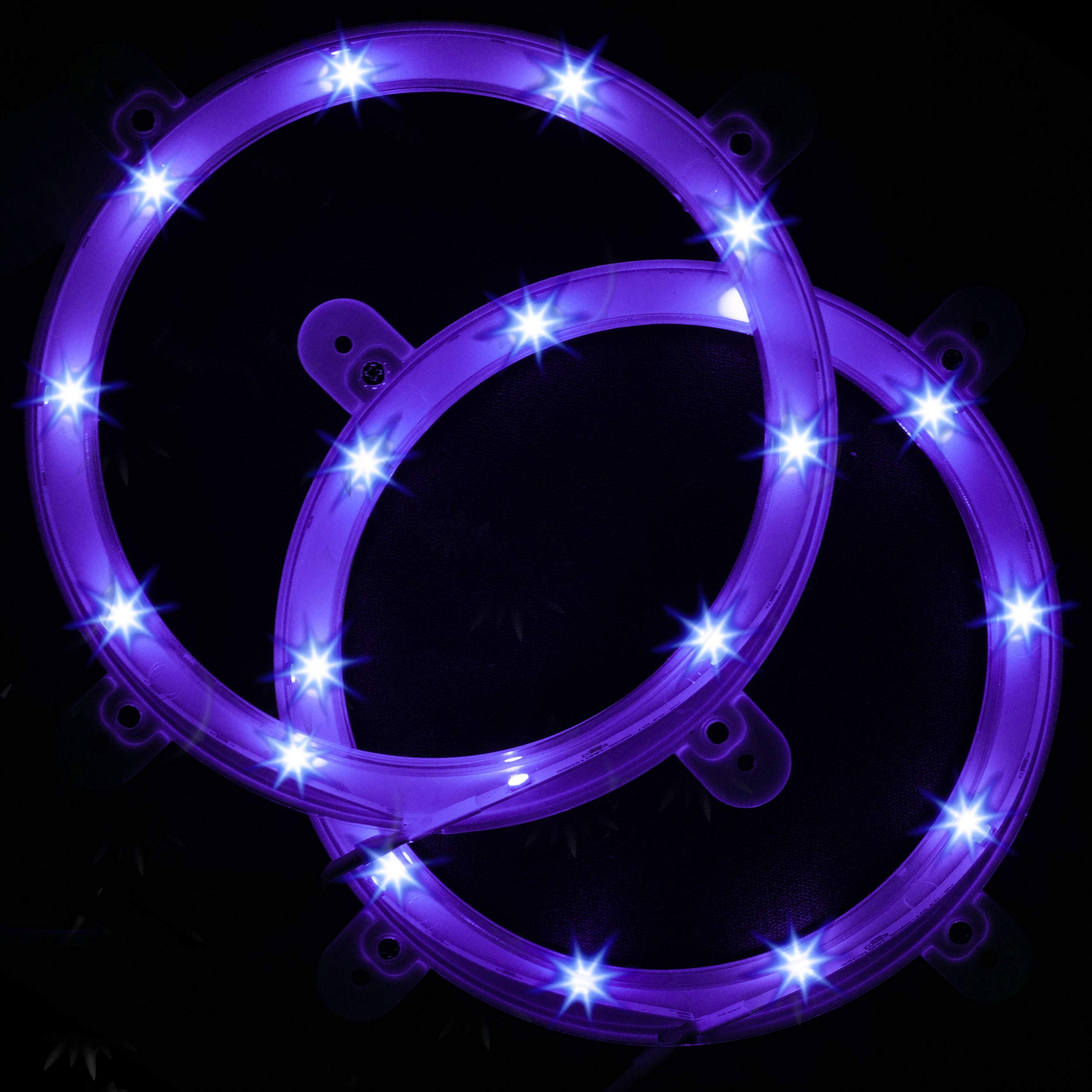Cornhole Board Lights - Purple LED Corn Hole Lighting Kit for Playing at Night by Play Platoon