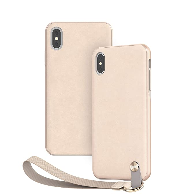official photos 5e741 8b08d Moshi Altra Slim Hardshell Case with Strap for iPhone Xs Max - White