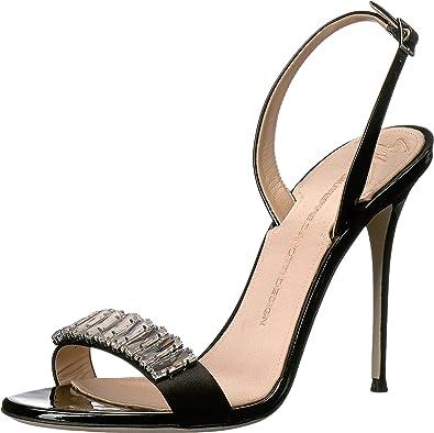 Giuseppe Zanotti Women's E70094 Raso Nero Sandal