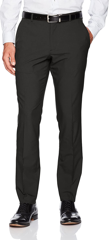 Perry Ellis Men's Portfolio Very Slim Solid Tech Pant