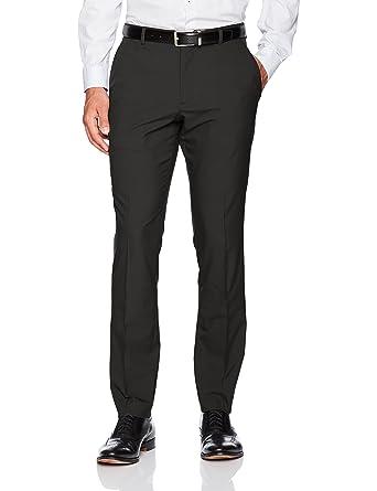 e829d286 Perry Ellis Men's Portfolio Very Slim Solid Tech Pant at Amazon ...