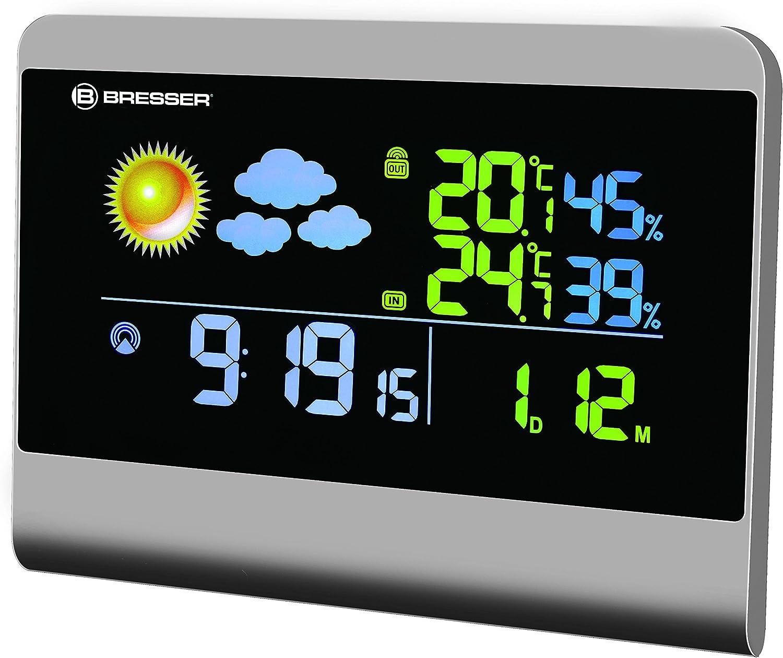 Bresser Weather Station TemeoTrend LG with outdoor sensor black