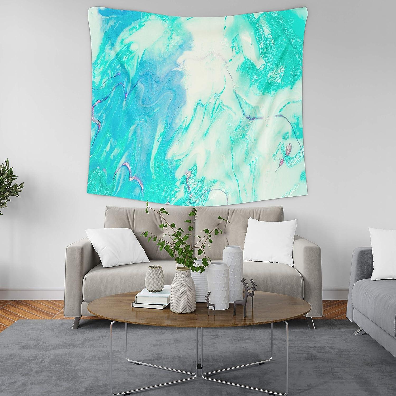 turquoise walls in bedroom