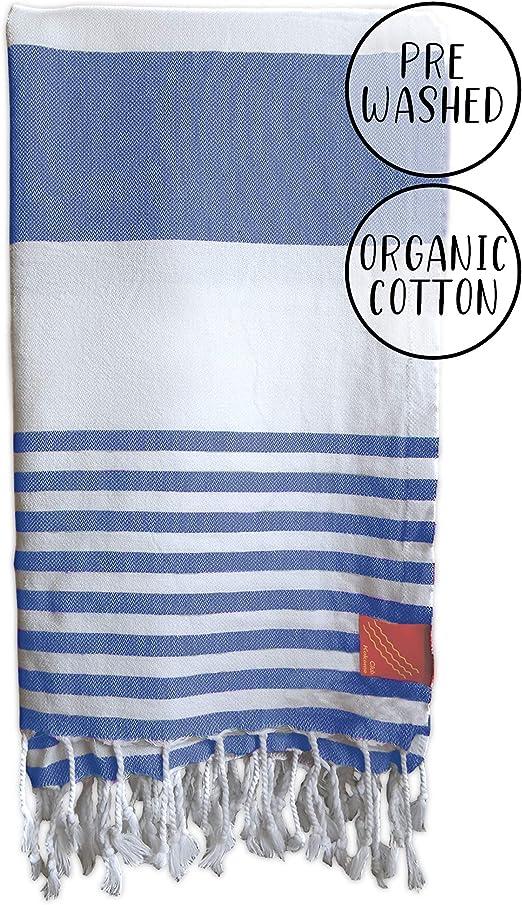 Turkish Cotton Classical Peshtemal Authentic Beach Towel
