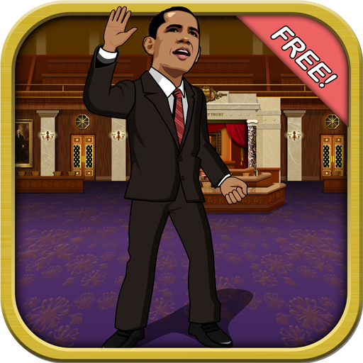 (Fiscal Cliff Challenge FREE - Obama vs Politicans Runner Game)