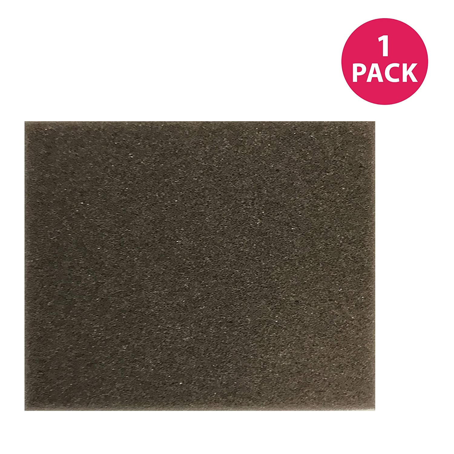 Think Crucial Replacement for Bissell Foam Filter Fits AeroSwift 1009 Series, Compatible with Part # 1600304, Washable & Reusable