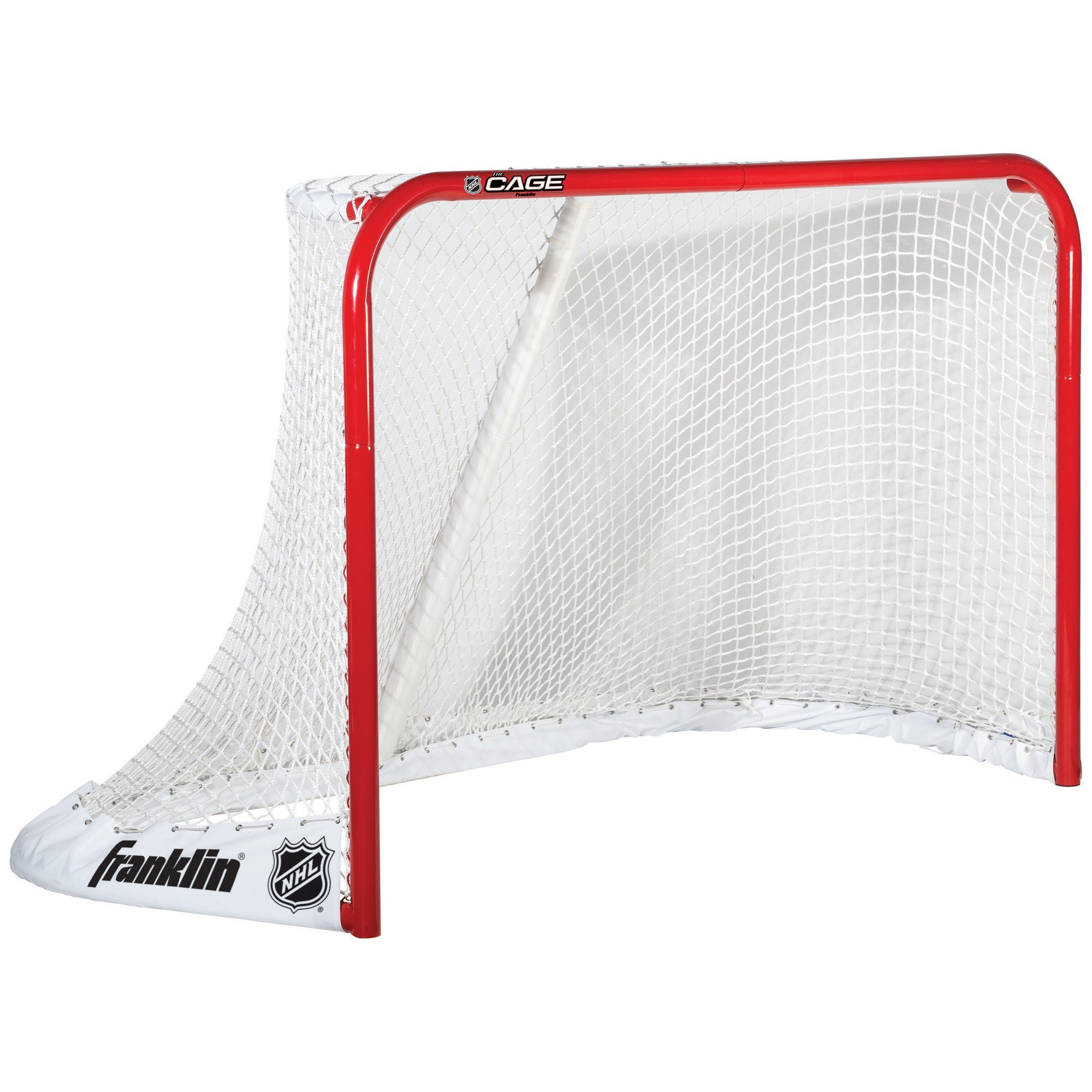 Franklin Sports NHL ''The Cage'' Steel Ice Hockey Goal - 72 x 48 Inch by Franklin Sports