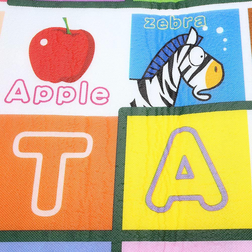 Hanbaili Hexagonal Game Rug Tapis antid/érapant pour b/éb/é Belle Salle de Jeux Multicolore pour Enfants