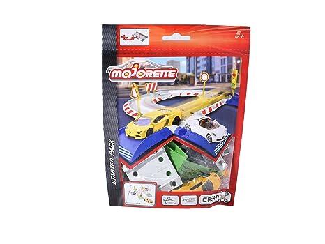 Majorette 212050008 Creatix Starter Pack Vehicule Amazon Fr Jeux