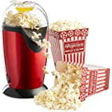 Cpixen Electric Household Kitchen Popcorn Maker Machine (Red)