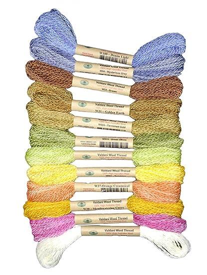 Amazon com: Valdani 100% Australian Virgin Wool Thread