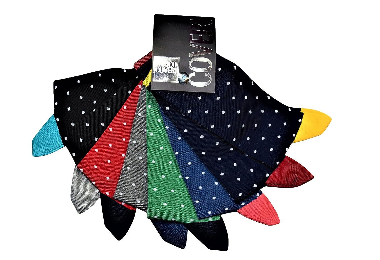 CONFEZIONE N. 12 PAIA CALZA UOMO CORTA ENRICO COVERI IN COTONE MERCERIZZATO - Vestibilità calzata 39/46 - Disponibili nei colori Assortiti come nell'immagine. Prodotto Scatolato 11 8935