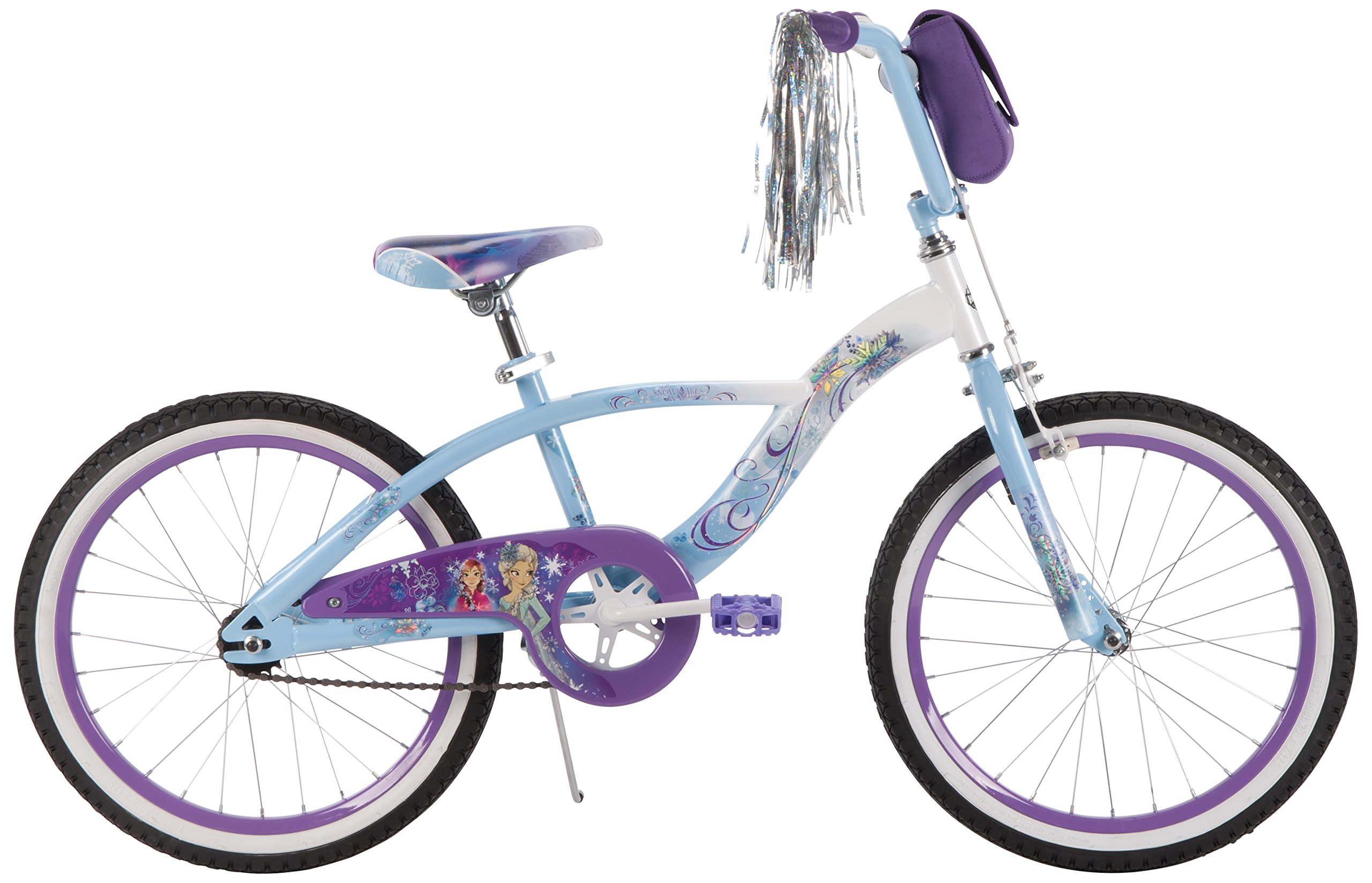 20'' Disney Frozen Girls' Bike by Huffy, Ages 5-9, Height 44-56''