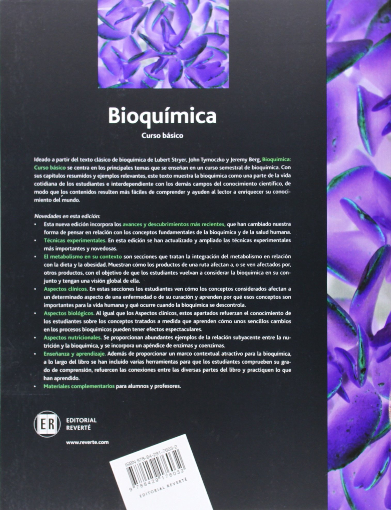 Bioquímica. Curso básico: Amazon.es: Lubert L. Stryer ...