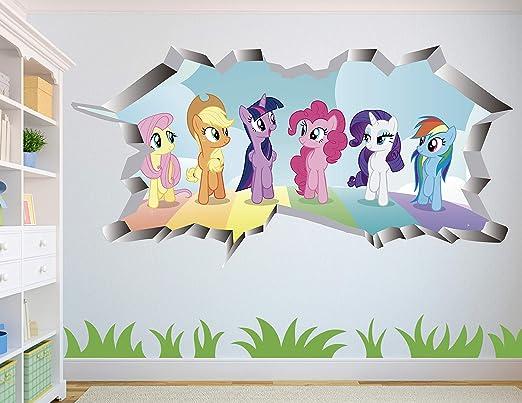 My Little Pony Wall Sticker Vinyl Print Poster Kid Art Mural Decal Nursery Decor