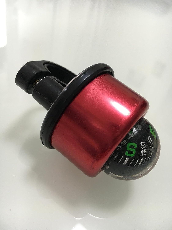 campanello MTB dal suono forte per manubrio KAIFANG campanello da bici in metallo con anello e bussola